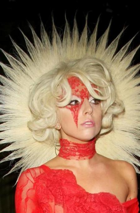 Cele mai nebunesti coafuri ale lui Lady Gaga