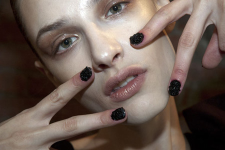 Unghiile cu caviar